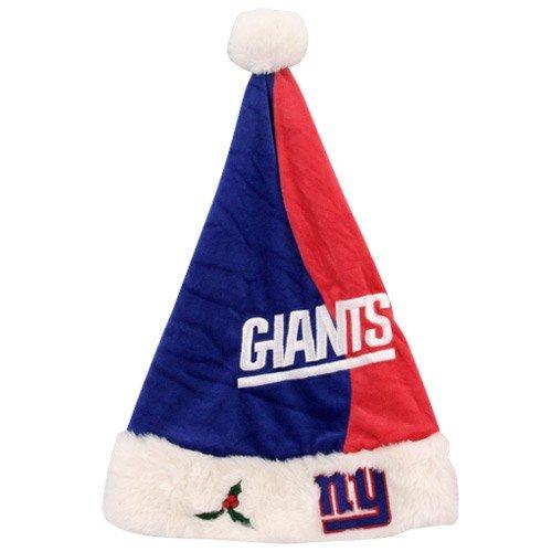 (New York Giants 2009 Colorblock Santa Hat)