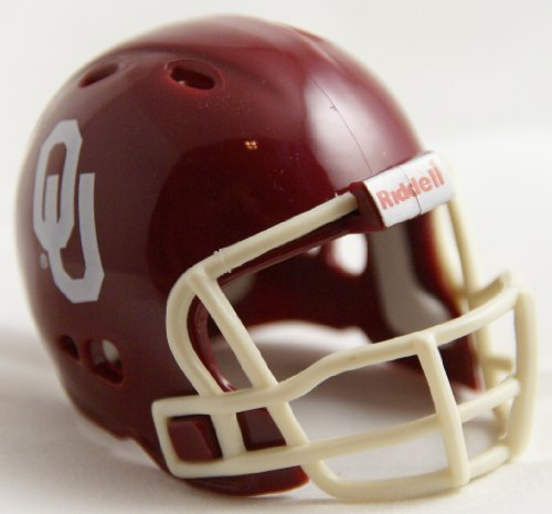 Sooners Helmet Mini Oklahoma (OKLAHOMA SOONERS Riddell Revolution POCKET PRO Mini Football Helmet)