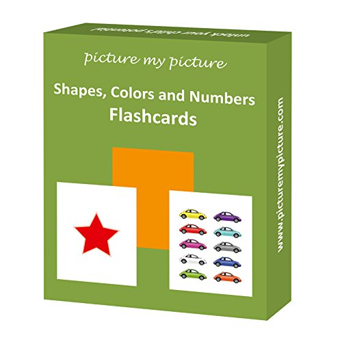 Shapes Colors and Numbers: 40 Flash (Activities Will Guide)