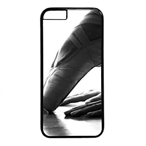 Beautiful Ballet Dancer Theme Case for iphone 5s PC Material Black