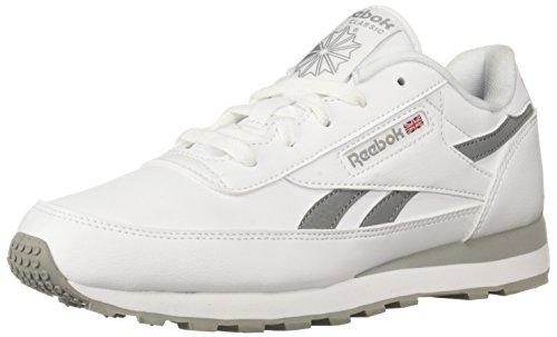 - Reebok Women's Classic Renaissance Walking Shoe, White/Flat Grey, 9 M US