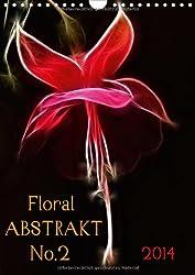 Floral Abstrakt No.2 (Wandkalender 2014 DIN A4 hoch): Florale Abstraktionen - Digitale Blütenkunstwerke (Fraktalius) (Monatskalender, 14 Seiten)