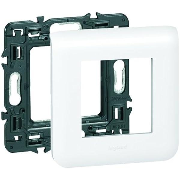 Legrand LEG99675 Mosaic - Cuadro para 2 módulos (incluye caja de empotrar y placa embellecedora): Amazon.es: Industria, empresas y ciencia