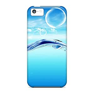 LJF phone case Shock-dirt Proof Fish Case Cover For ipod touch 5