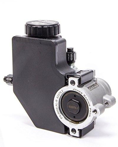 Mini Power Steering Pump (Jones Racing Products (PS-9008-AL-R) Aluminum Mini Power Steering Pump with Plastic Reservoir)