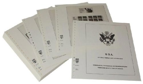 Lindner-T Nachträge T512R/09 2015 USA Markenheftchen und Automaten-Folienblätter - Jahrgang 2015
