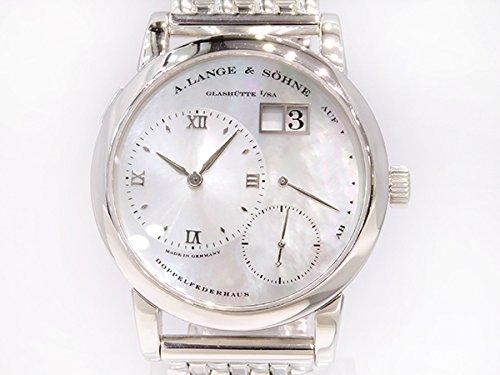 A.ランゲ&ゾーネ A.LANGE&SOHNE ランゲ1 ホワイトシェル文字盤 メンズ 腕時計 【中古】 B077S514HK