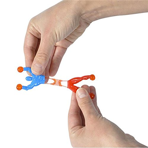 Neliblu Bulk Toys Party Favors 60 Pc Wacky Fun Stretchy Sticky