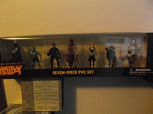 7 Piece Pvc Figure (Mike Mignola's Hellboy Seven Piece PVC Set)