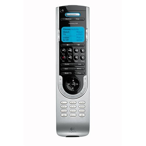 Logitech Harmony 520 Advanced Universal Remote (Discontinued by Manufacturer) (Renewed) (Harmony 520 Remote)