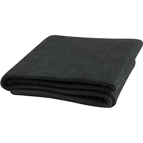 Steiner 316-6X8 Velvet Shield 16 oz Black Carbonized Fiber Welding Blanket, 6' x 8' by Steiner