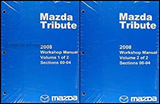 2008 mazda tribute repair shop manual original amazon com books rh amazon com mazda tribute owners manual 2010 mazda tribute repair manual pdf