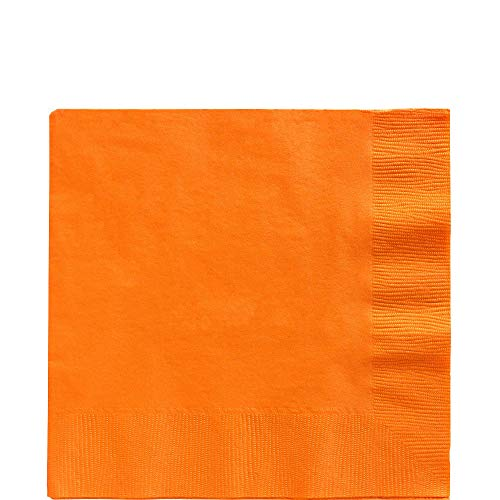 Big Party Pack Orange Peel Luncheon Napkins | Pack of 125 | Party Supply]()