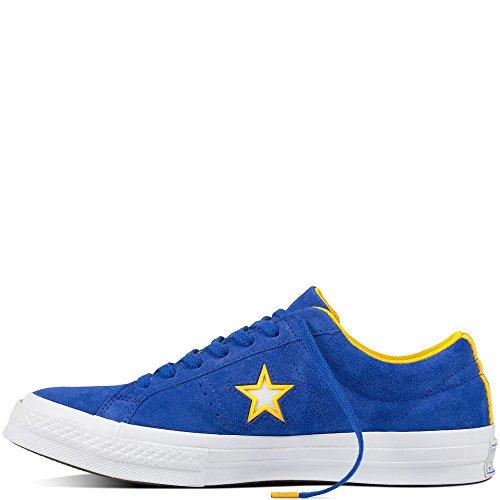 de Zapatillas 483 One Ox Royal Azul Suede Deporte Star Converse Lifestyle Hyper Unisex Adulto White Yfwqgwp