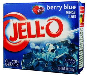 Jell-O Berry Blue Gelatin - 4 Pack by Jell-O