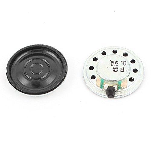 EbuyChX 2個 0.5W 8オーム 20mm ラウンドインサイド マグネット 電子スピーカー トランペット B07KYPC3QX