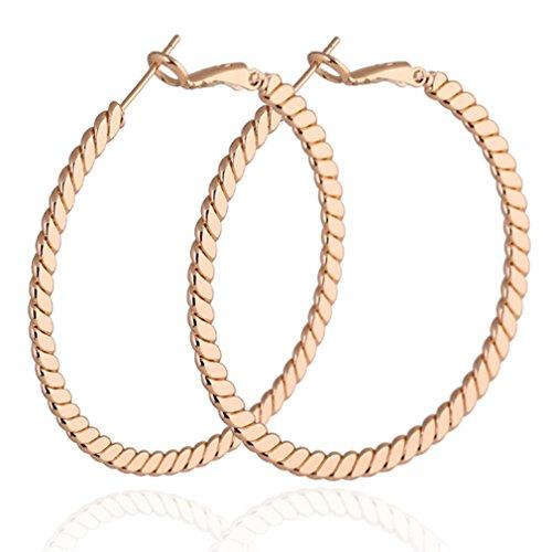 Design Omega Back Earrings - 2