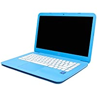 HP Stream 14 Laptop, Intel Celeron N3060, 4GB RAM, 32GB Solid State Drive with Windows 10 (14-ax010ca) - Aqua Blue (Certified Refurbished)