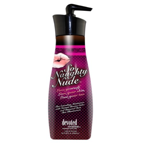 Devoted Creations So Naughty Nude Tan Extending Moisturizers - 18.75 oz.