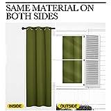 NICETOWN Patio Glass Door Panels - Blackout