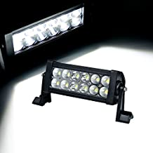 Kawell® 7 inch 36W 12LEDs Flood and Spot Beam Combo Led Light Off Road light Bar 4x4-suitable for Off-road Vehicle/ATVs/SUV/Truck etc.