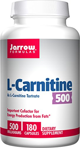 Formules de Jarrow L - Carnitine Tartrate 500mg, 180 Capsules