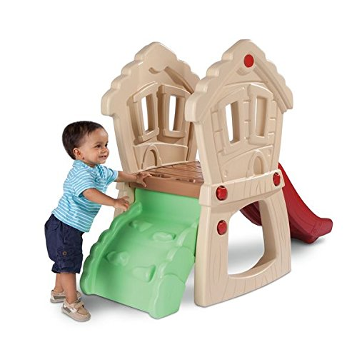 Hide and Seek Climber Slide toddlers Is A Great Way To Build Coordination And Balance. by ( Little Tikes )