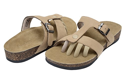 Wellrox Vrouwen Santa Fee-sedona Toevallige Sandaal Natuurlijke Nubuck