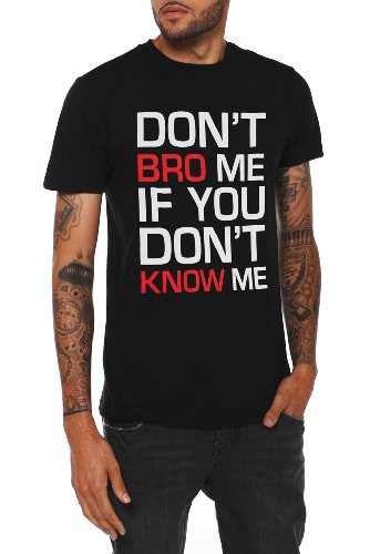 Donx27;t Bro Me T-Shirt Size : Medium