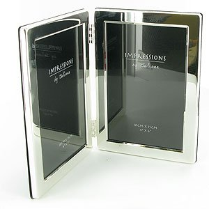 double silver plated photo frame - Double Photo Frame