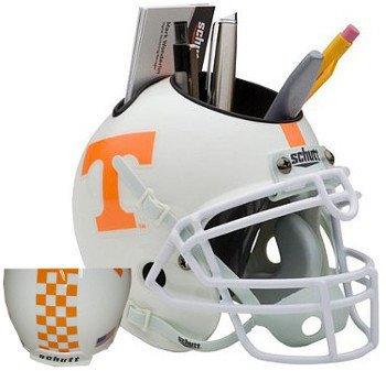 Tennessee Volunteers Checkerboard Stripe NCAA Football Schutt Mini Helmet Desk (Ncaa Checkers)