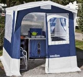 Brunner Kitchen tent Gusto 200x200 (blue)