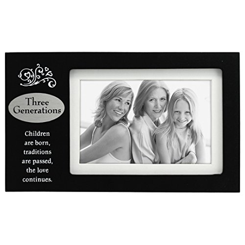 Three Generations Frame with Poem