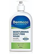 Dermeze Moisturising Soap Free Wash 500ml