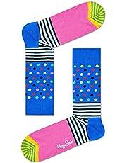 Happy Socks Stripes and Dots Sock Blauw