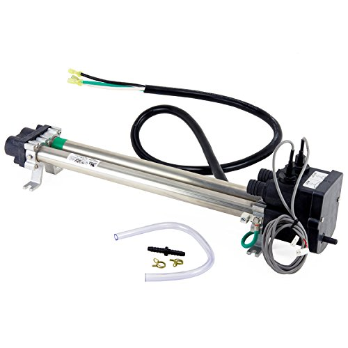 Low-Flow Titanium Heater w/Sensors for Hot Spring/Watkins/Tiger River/Limelight Hot Tub Spa No-Fault 6kW by Spa Depot