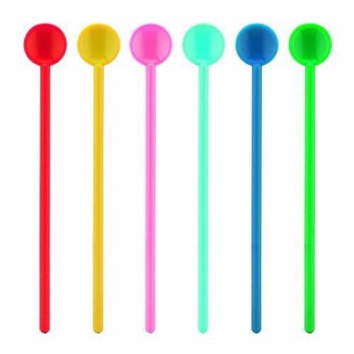 Bodum Bistro Stirring Spoons, Large, Pack of 6, Assorted Colours by Bodum