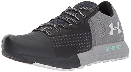 Image of Under Armour Women's Horizon KTV Running Shoe, Anthracite (100)/Overcast Gray, 6.5