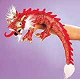 Small Red Dragon Puppet
