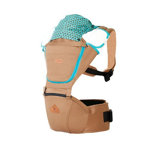 I-Angel Josh Baby Hip Seat Carrier 3 Color (Brown)