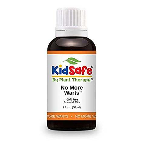 Plant Therapy KidSafe No More Warts Synergy Essential Oil 30 mL (1 oz) 100% Pure, Undiluted, Therapeutic Grade Plant Therapy Essential Oils