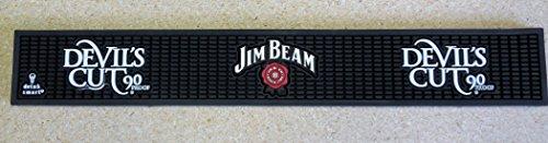 jim-beam-devils-cut-bar-rail-spill-mat-new