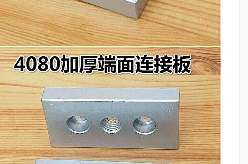 Nuts 12pieces/Pack for 4080 end Connection Plate Aluminum Plate for 4080 Aluminum Profile - (Size: M10)
