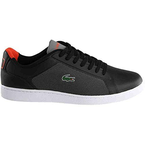 Lacoste Mens Endliner 317 2 Sneaker Nero / Rosso