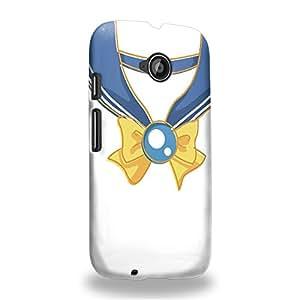 Case88 Premium Designs Art Sailor Moon Crystal Sailor Uranus Vintage Carcasa/Funda dura para el Motorola Moto E (2nd Gen.)