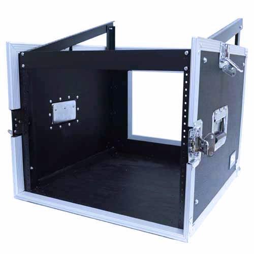Seismic Audio - SAMRC-8U - 8 Space Rack Case with Slant Mixer Top - PA/DJ Pro Audio Road Case by Seismic Audio (Image #2)