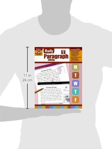Amazon.com: Daily Paragraph Editing, Grade 5 (9781557999597): Evan ...