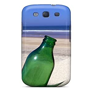 New Diy Design Bottle On Beaches For Galaxy S3 Cases Comfortable For Lovers And Friends For Christmas Gifts