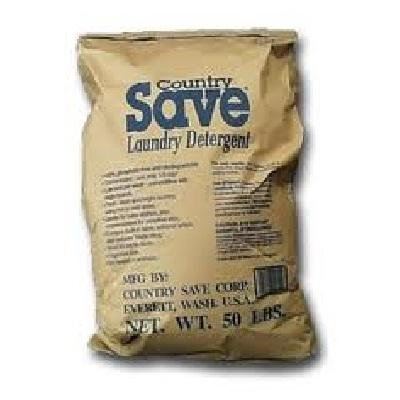 Detergent Powdered Save Country - Country Save BG11697 Country Save Laundry Detergent - 1x50LB