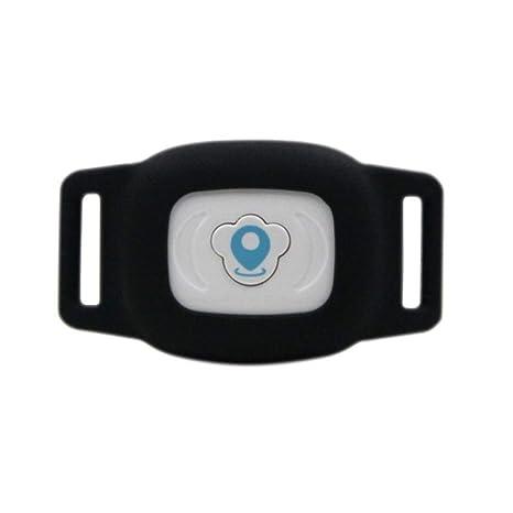 CWDIER Rastreador GPS para Mascotas Collar Mini LBS Rastreo ...